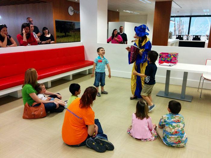 animación de fiestas infantiles en ingles o italiano