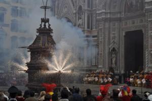 como celebran la Semana Santa en Italia