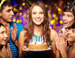 Feliz cumpleaños en italiano