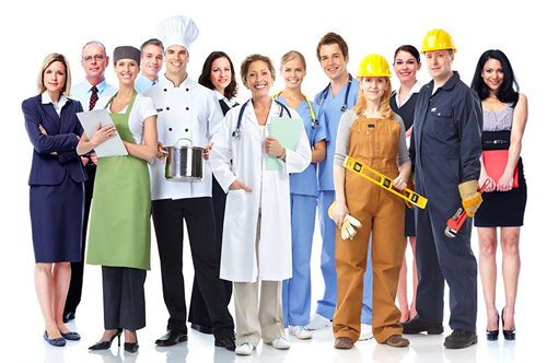 Vocabulario de profesiones y oficios en italiano