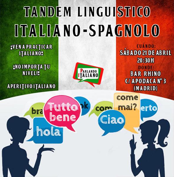 Intercambio-para-aprender-italiano-en-Madrid