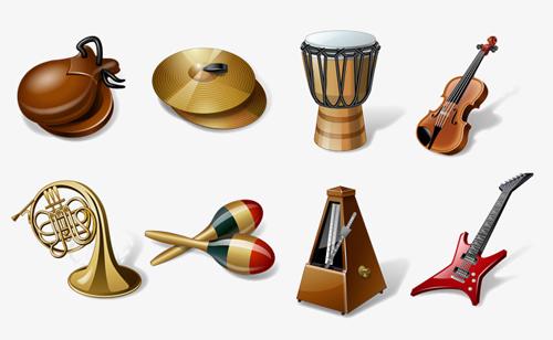 nombres de instrumentos musicales en italiano