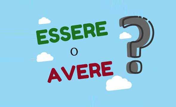 verbos essere y avere en italiano