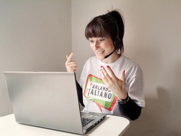 clases italiano skype