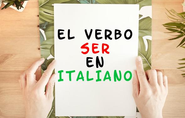 verbo ser en italiano