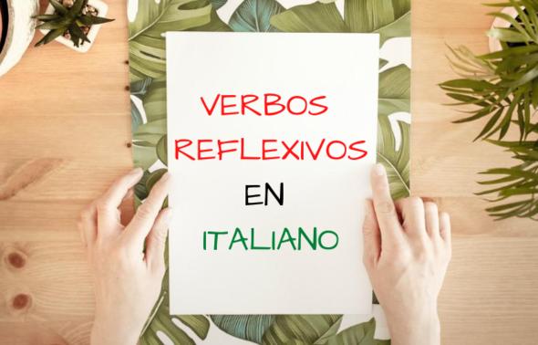verbos reflexivos en italiano
