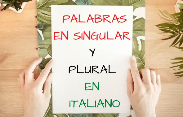 sustantivos en italiano