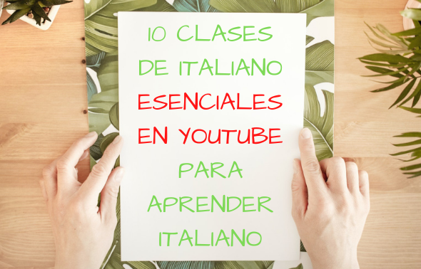 Clases de italiano en Youtube