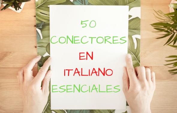 Conectores en italiano